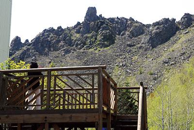 洞爺湖展望台に御神岩見晴台が。スピ感の持ち主ならここは特等席。