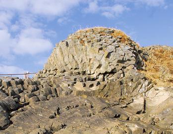 花咲岬 車石